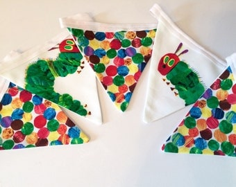 The Very Hungry Caterpillar bunting