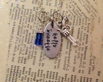 Hello Sweetie Charm Necklace