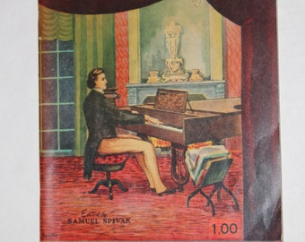 Chopin's Music To Remember  1945 - Chopin Music Book