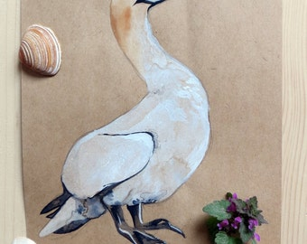 Original Watercolour - Gannet