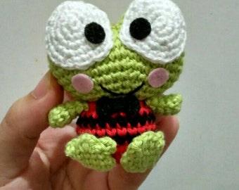 Crochet Keroppi (frog)