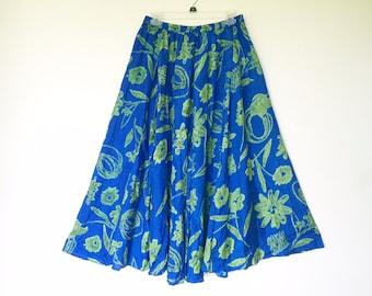 Silk maxi skirt | Etsy