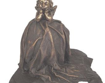 Cherub  Statue - contemporary weather resistant sculpture