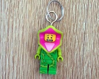 Lego Monster Keychain Plant Monster