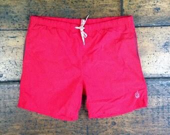 Vintage Nautica Board Shorts Swim Trunks