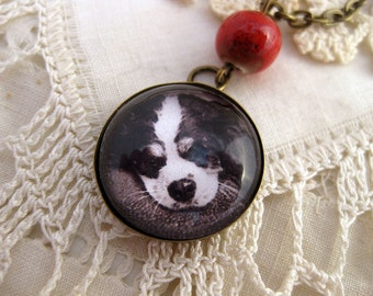 King Charles Spaniel pendant necklace