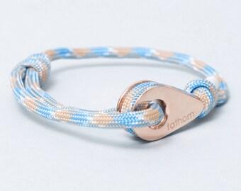 CORD Bracelet Paracord Bracelet Sailing Bracelet Nautical Bracelet Sailor Bracelet Surf Bracelet Surfing Bracelet Maritime Bracelet Ocean 7