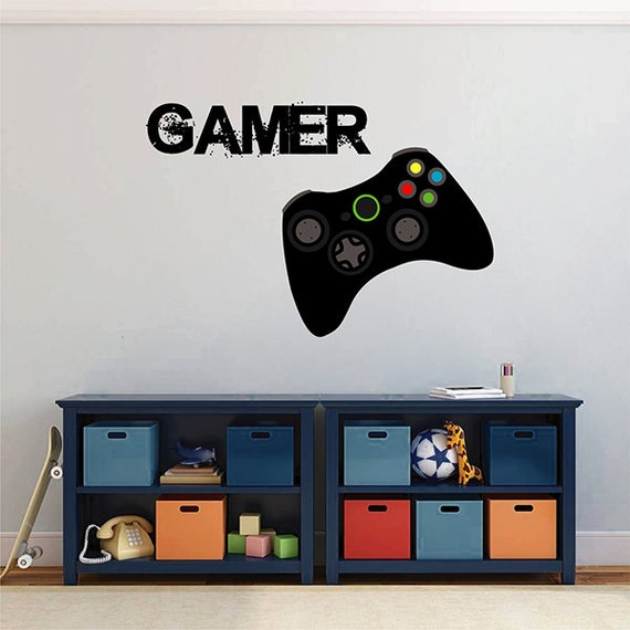 Kcik1498 Full Color Wall Decal Controller Console Xbox 360