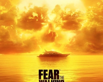 Fear The Walking Dead (No Safe Harbor) Giclee Print Movie Poster FREE SHIPPING