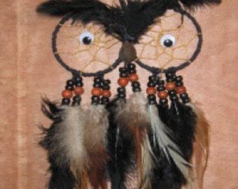 Black Brown Hootie Owl