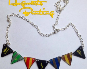 Harry Potter Bunting Necklace