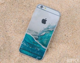 Waves iPhone Case - iPhone 7 Case, iPhone 7 Plus Case, iPhone 6 Case, iPhone 6 Plus Case, iPhone 5s, iPhone SE, Beach Case, Waves, Water,Art
