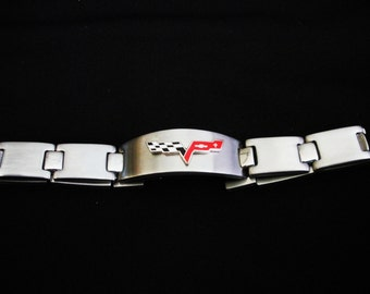 Corvette C6 Stainless Steel Bracelet