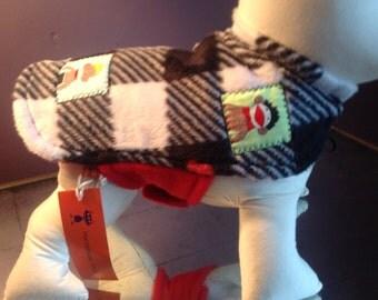 Sock Monkey's Rock Dog Coat