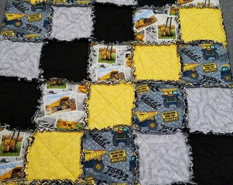 Construction rag quilt