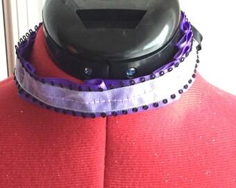 Purple choker