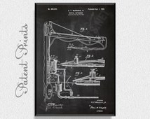 Dental Obtunder 1902 Patent Print, Dental Poster, Dental Print, Medical Blueprint, Medical Print, Medical Art