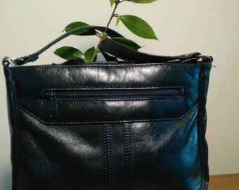 Vintage Navy Gemini bag by Ackery