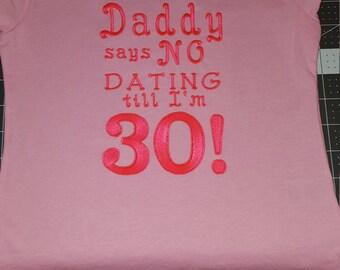 Day says no Dating shirt