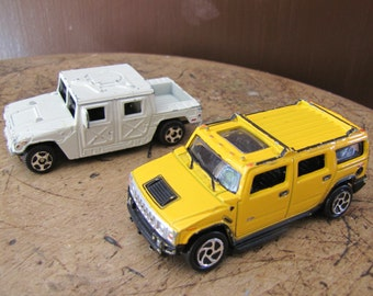 Hummer Toy Truck, Yellow Hummer, White Hummer, Toy Truck