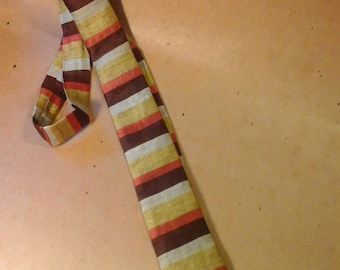 Vintage  Narrow Silk Tie