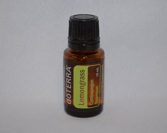 Doterra Lemongrass Essential Oil 15mL