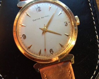 1960's Unusual Vintage Smiths Astral, 17-Jewel Cal.C60464E with Smiths Astral Box