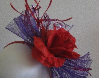 Red Hat Lady Fascinator
