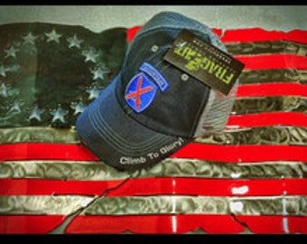10th Mountain Trucker Hat by Mountain Up