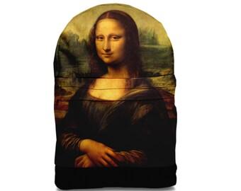 SALE! Mona Lisa backpack bag