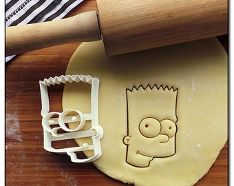 Cookie Cutter 3D Bart - The Simpsons