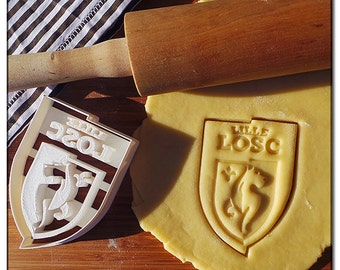 Cookie Cutter 3D Logo Club Lille LOSC
