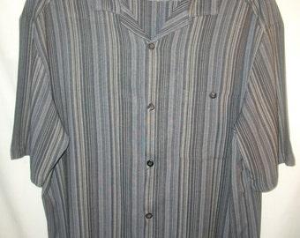 Vintage 80's Wilke Rodriguez Men's Short Sleeve Shirt Sz XXL