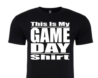 This Is My Game Day Shirt. Men's Football shirt. Men's Football T-Shirt. Men's Football Season Shirt. Funny Football Shirt.