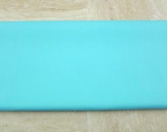 Pool Blue PU Leather Fabric 50cm x 65cm