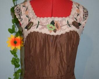 whistles beautiful  1920s style silk dress