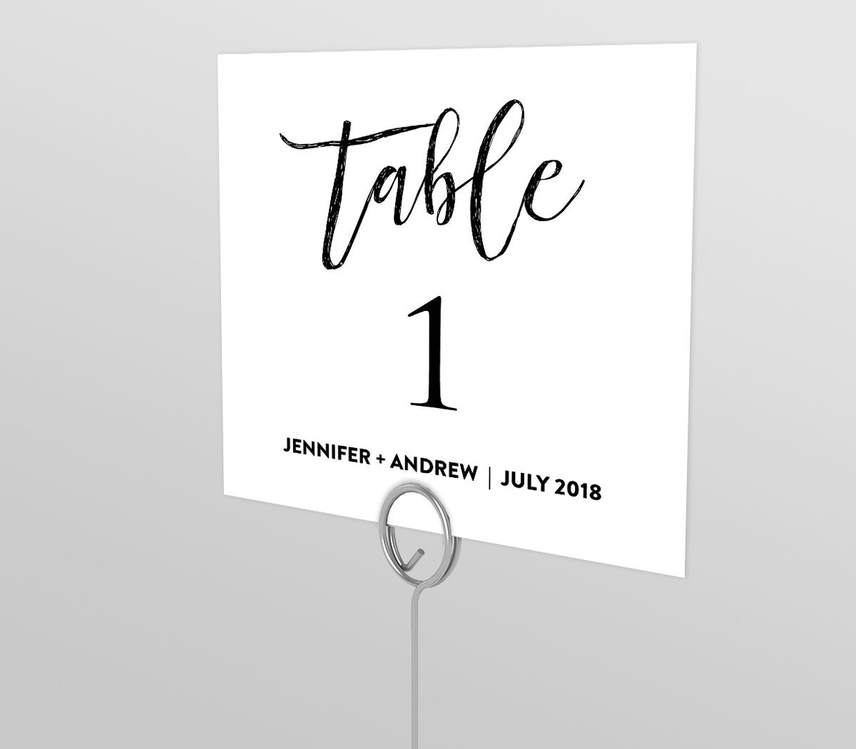 printable wedding table number card seating table card. Black Bedroom Furniture Sets. Home Design Ideas