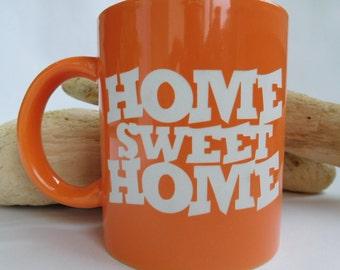 Home Sweet Home - Engraved Mug - Coffee cup - Personalized Gift - Funny mug - Birthday