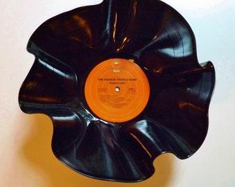 Charlie Daniels Record Bowl melted vinyl 1975 vintage Nightrider