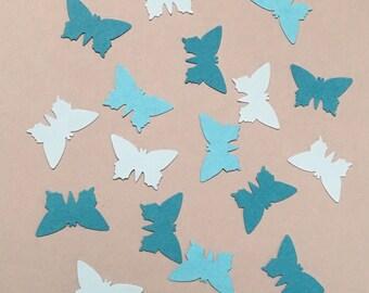 225 Blue Butterfly Confetti Butterfly Confetti Birthday Confetti Spring Confetti Shower Confetti Baby Confetti Easter Confetti Blue Confetti