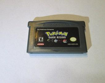 GBA Pokemon Dark Rising fan made game cartridge Gameboy Advance hack