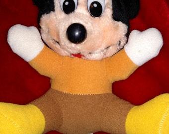 Vintage Mickey Mouse Plush