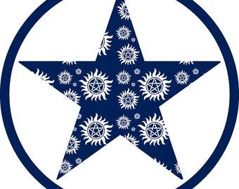 Supernatural Dallascon Badge