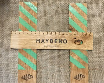 Handmade Wooden Ruler / Keepsake / Stationary / Bookmark