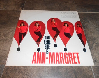 Ann Margret RCA 2399 And Here She Is, G+/VG Condition