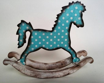 Vintage Rocking Horse Ornament