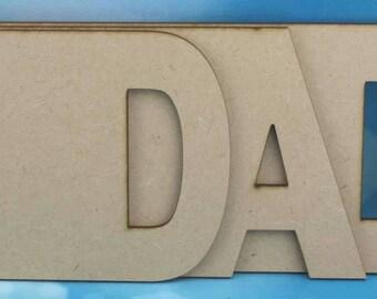 Fathers day DAD binder blank