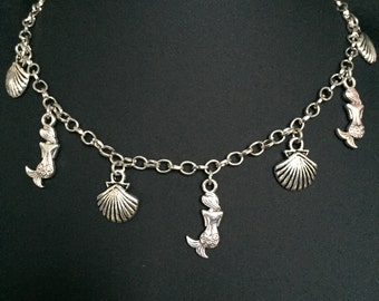 Mermaid & Shell Necklace
