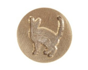 Cat Graphic Letter Seal