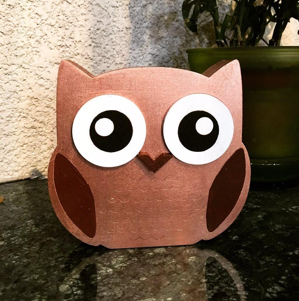 Owl Wooden Decor Wooden Sign Decor Home Decor Wall Decor